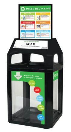 Savannah Recycling Bin Concept