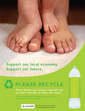 Savannah Recycling Ad